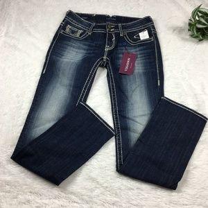 "VIGOSS ""The Chelsea"" Straight Dark Wash Jeans -NEW"